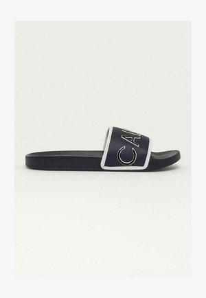 Sandalias planas - azul