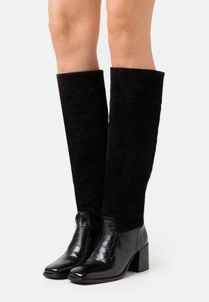 FLORENCE - Vysoká obuv - black