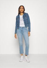 ONLY - ONLWESTA DESTROY JACKET - Denim jacket - medium blue denim - 1