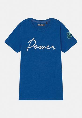 TEEN BOYS - T-shirt print - nautical blue