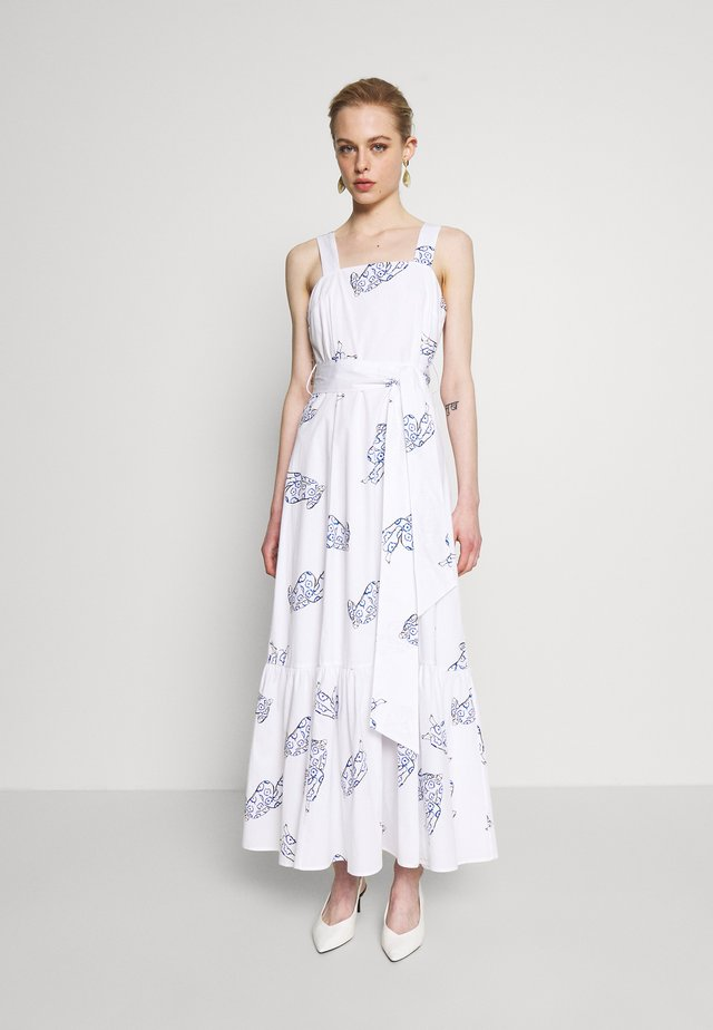 STRAP DRESS MAXI - Robe d'été - bright white