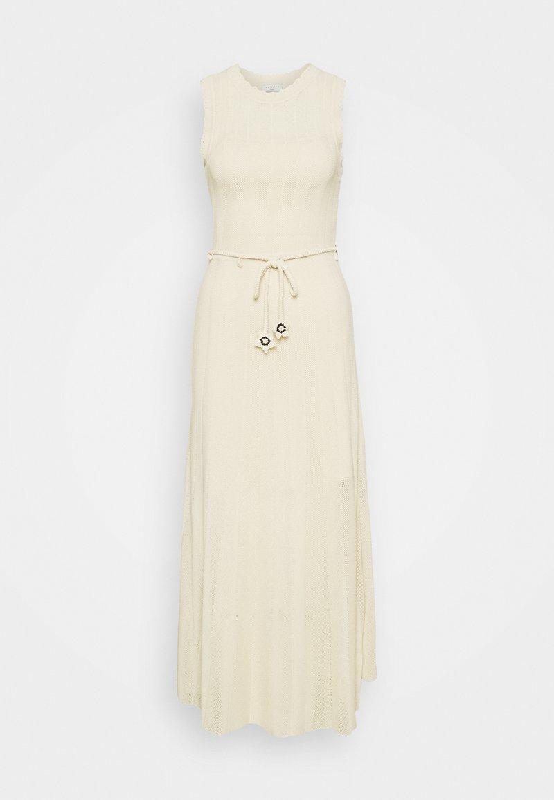 sandro - Jumper dress - beige clair