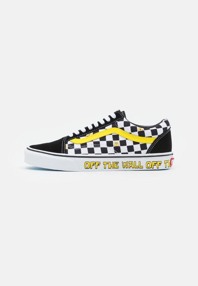 OLD SKOOL - Sneakers laag - black/yellow/white