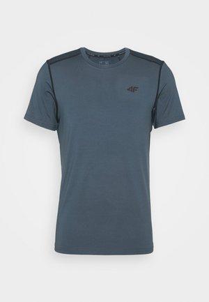 Men's training T-shirt - Triko spotiskem - khaki