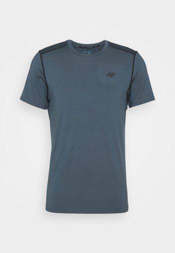 Men's training T-shirt - Print T-shirt - khaki