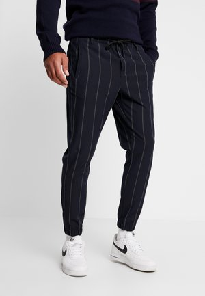 CLUB IZMIR PIN PANT - Tracksuit bottoms - navy