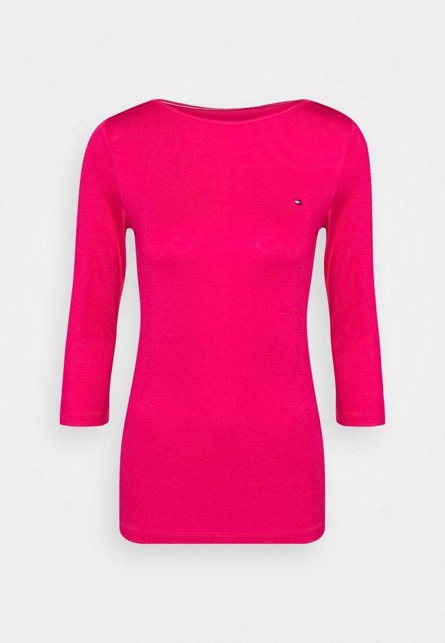 BOAT NECK - Bluzka z długim rękawem - bright jewel