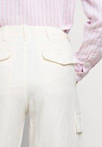 Polo Ralph Lauren - Spodnie materiałowe - antique cream - 5