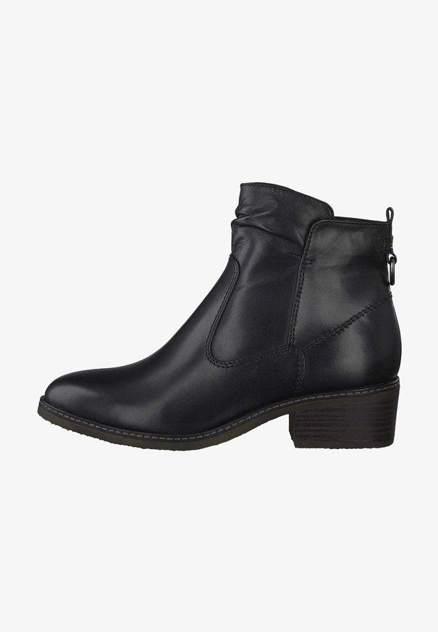 Boots à talons - black leather 3