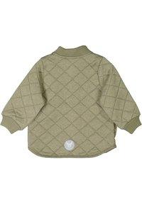 Wheat - Winter jacket - green melange - 1