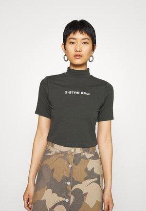 FUNNEL - T-shirts med print - asfalt
