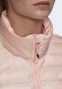 adidas Performance - VARILITE OUTDOOR DOWN - Down jacket - pink - 3