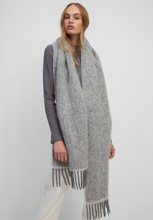 Szal - light gray melange
