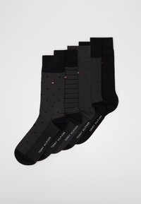 Tommy Hilfiger - SOCK BIRDEYE GIFTBOX 5 PACK - Strumpor - black - 0