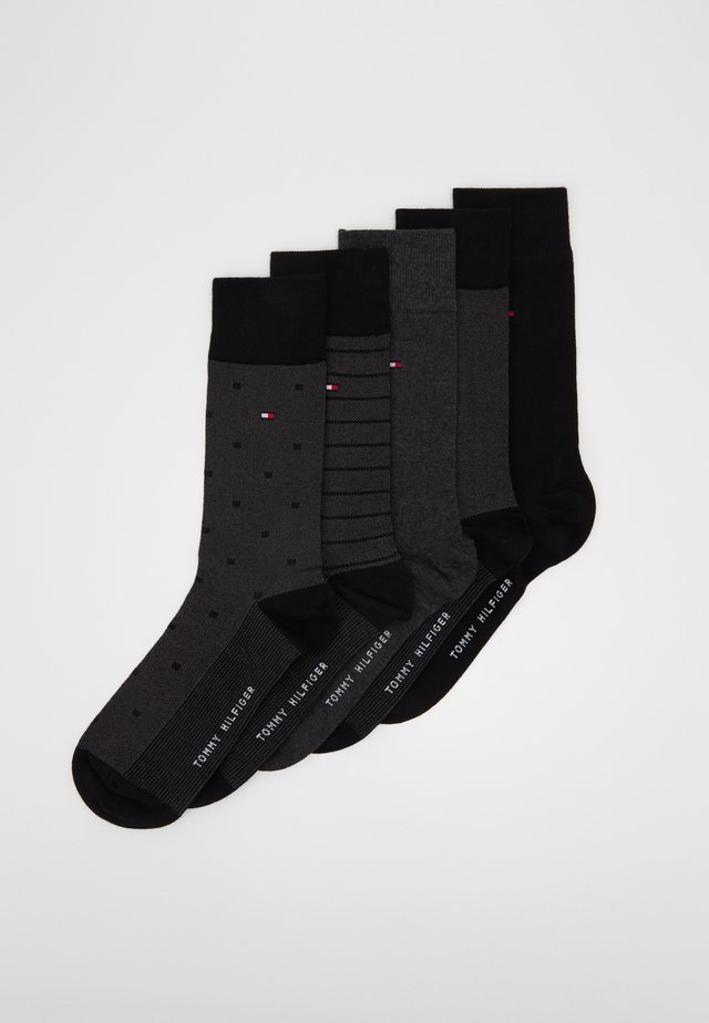 SOCK BIRDEYE GIFTBOX 5 PACK - Ponožky - black