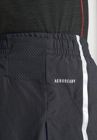 adidas Performance - SATURDAYSPLIT - Sportovní kraťasy - black/gresix - 5