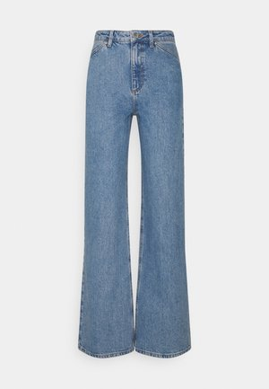 WIDE LEG - Jeans relaxed fit - mid blue
