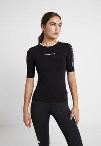 Converse - CREW ALL STAR - T-shirt con stampa - black - 0