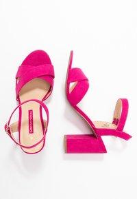 Dorothy Perkins - SERENA UPDATE - High heeled sandals - bright pink - 3