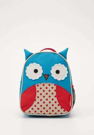 ZOO LET OWL - Batoh - blue/red