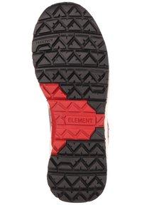 Element - MONDE - Lace-up ankle boots - walnut - 4