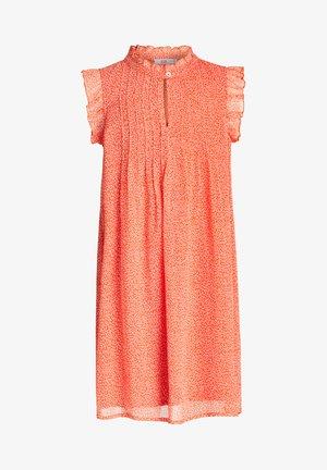 Day dress - bright orange