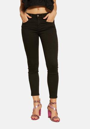 DRILLICH - Jeans Skinny Fit - nero
