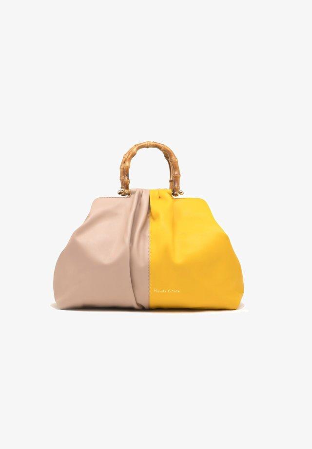 Borsa a mano - light yellow  beige