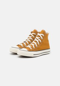 Converse - CHUCK 70 RECYCLED UNISEX - High-top trainers - dark soba/egret/black - 3