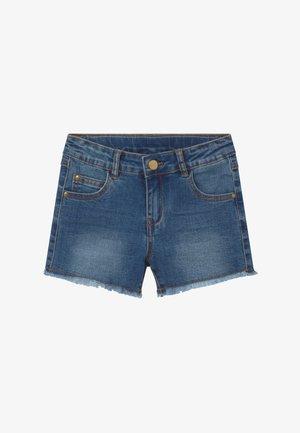 AGNES - Denim shorts - light blue denim