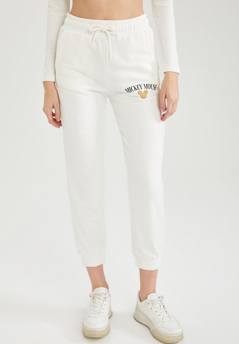 DeFacto - DISNEY  - Pantalon de survêtement - white