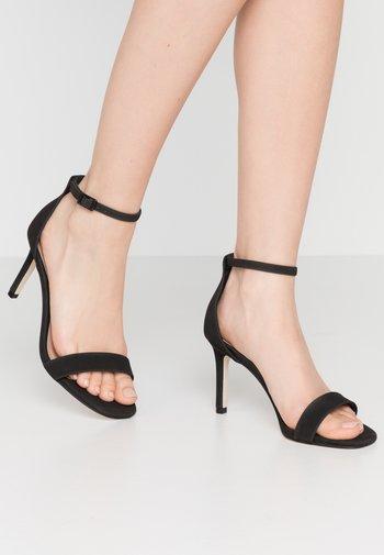 ELLA - High heeled sandals - black