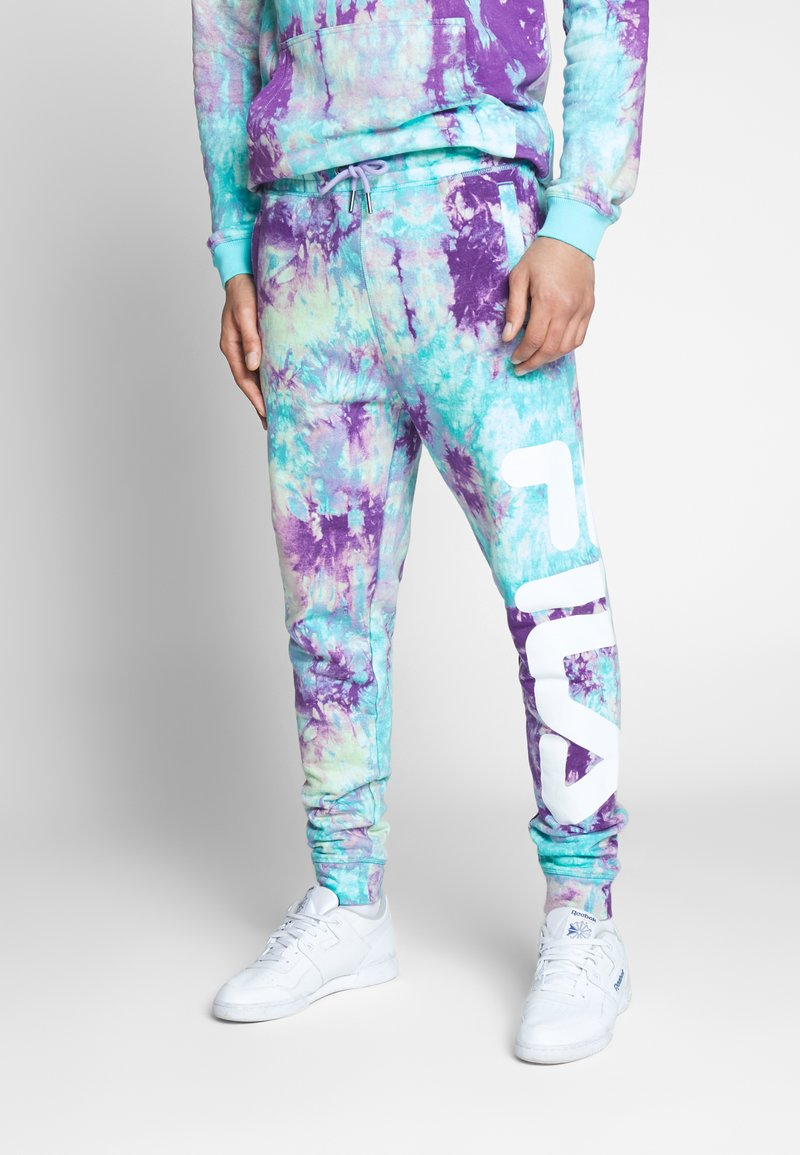Fila - PURE AOP - Teplákové kalhoty - lilac batik allover