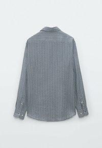 Massimo Dutti - SLIMFIT - Shirt - blue - 1
