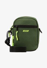 MSGM - Across body bag - army - 1