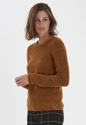 Pullover - cathay spice melange