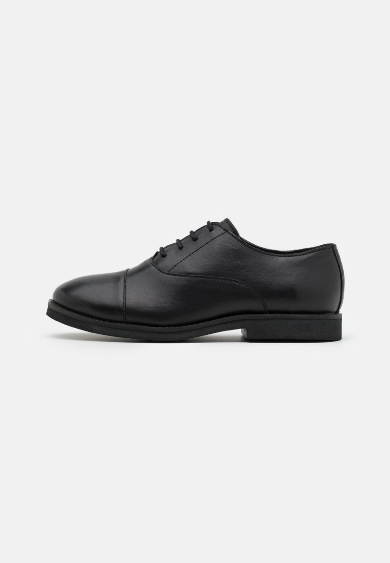 Friboo - LEATHER - Lace-ups - black