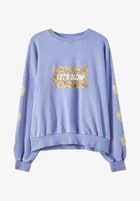 PULL&BEAR - Sweatshirt - mottled blue - 4