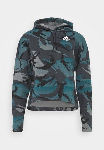 ZNE A.RDY - Sweatshirt - dark grey/teal