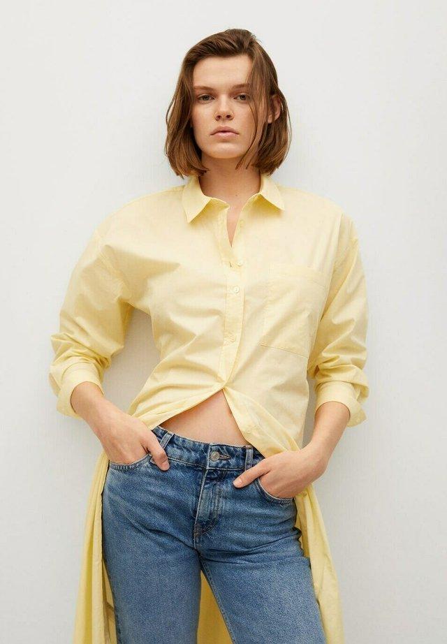 Shirt dress - amarillo pastel
