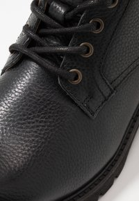 Pantofola d'Oro - LEVICO UOMO HIGH - Lace-up ankle boots - black - 5