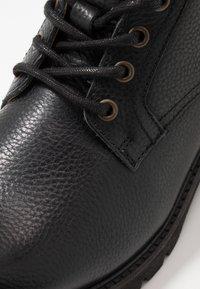 Pantofola d'Oro - LEVICO UOMO HIGH - Veterboots - black - 5