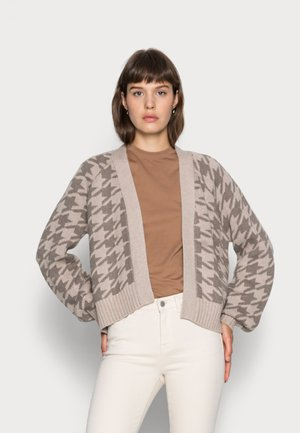 MID LENGTH  PATTERN  - Cardigan - houndstooth