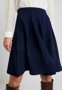 Anna Field - BASIC - A-line skirt - maritime blue - 4