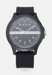 Armani Exchange - UNISEX - Hodinky - black - 0