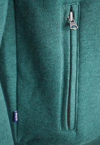 Superdry - Sweater met rits - forest green - 4