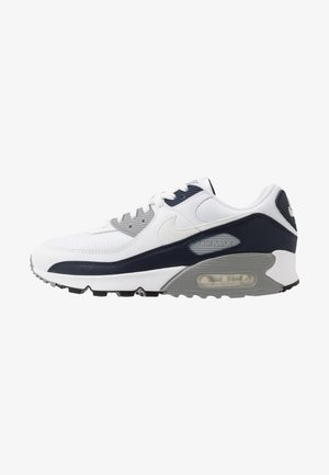 AIR MAX 90 - Trainers - white/particle grey/obsidian