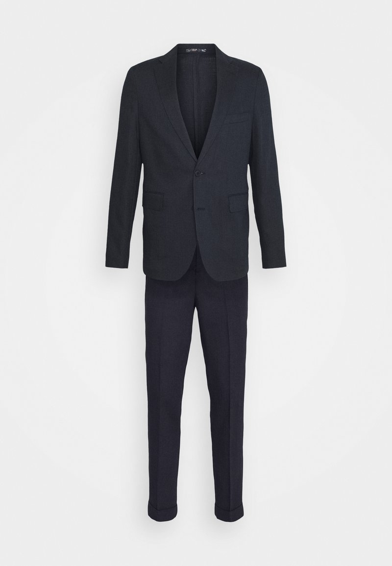 Isaac Dewhirst - UNSTRUCTURED DRAWCORD  - Suit - blue