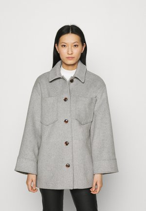 DIONE OVERSHIRT - Summer jacket - grey melange