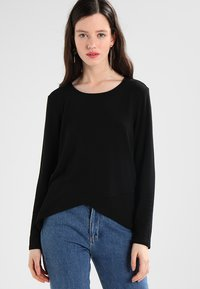 ONLY - ONLSONJA MIDA WRAP - Long sleeved top - black - 0